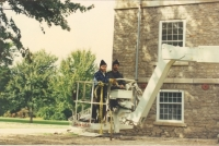 DAN MERCIER AND HIS BROTHER AT WILLOW BANK-circa 1990.jpg