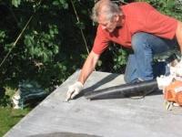 PREPARING A FLAT ROOF RESIDENTIAL BY EMMANUEL.JPG